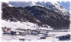 Stazione sciistica di Livigno in Valtellina