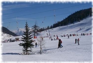 Piste per sciare in Italia