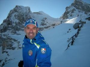 Paolo de Luca, maestro di sci