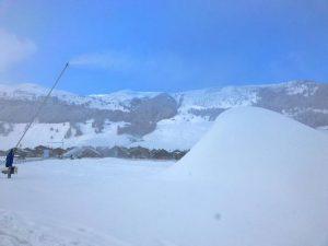 Livigno 2016, innevamento piste da sci