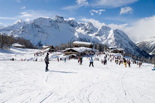 Piste da sci in Valmalenco