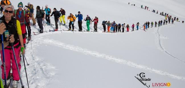 Skieda a Livigno
