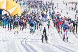 Sgambeda, gara di sci nordico a Livigno