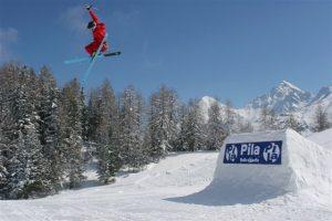 snowboard a Pila