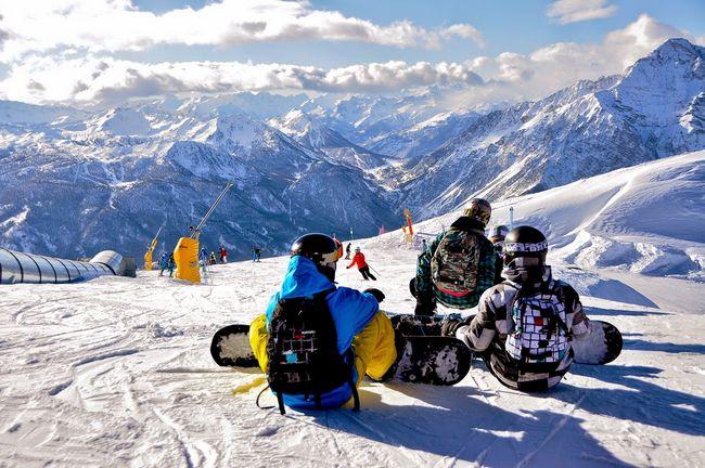 sciare in vialattea