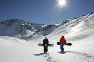 Snowboard a Livigno