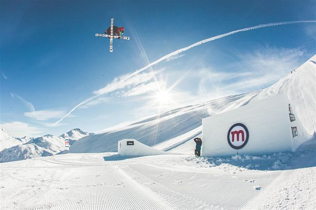 snowpark mottolino a livigno